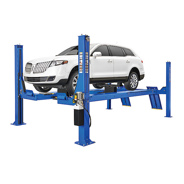 Rotary Four-Post Wheel Alignment Auto Lift (14,000lbs.-Capacity Open Front) - R-ARO14-EL2