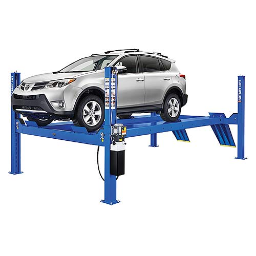 Rotary Four-Post Auto Lift (14,000lbs.-Capacity Closed Front) - R-SM14L