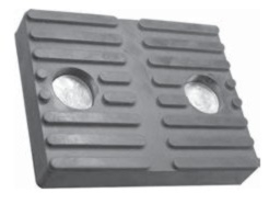 Allpart Replacement Pad for Ammco Lifts (molded rubber) - ALL-JOP05M