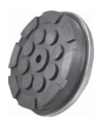 Allpart Replacement Pad for Quality Lifts (molded rubber) - ALL-JOP25M