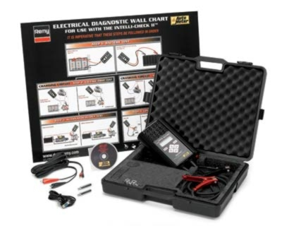 Auto Meter 6/12/24V Hand-Held Truck System Tester Computer Kit - AM-200DTK