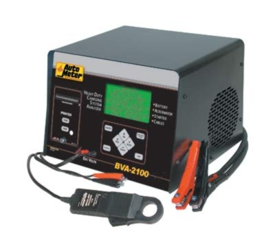 Auto Meter 6/12/24V Heavy-Duty Battery & Electrical System Tester - AM-BVA2100