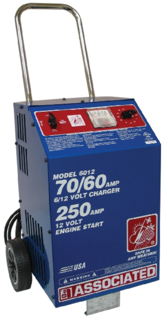 Associated 6/12V Wheeled Professional Fast Charger (70/60 Amps) - ASO-6012