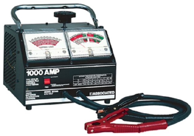 1000 Amp Battery Monitor : Associated v carbon pile load tester amps
