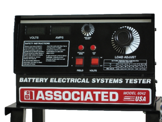 24 Volt Battery Load Tester : Associated v electrical system tester amps