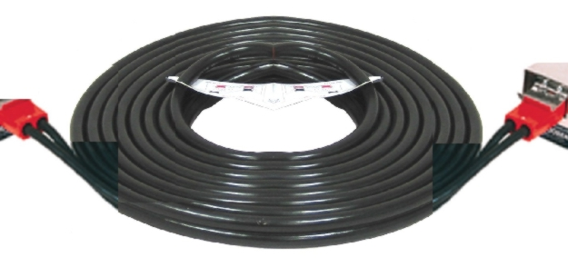 Associated 12' Dual Plug-In Cable (4 AWG) - ASO-6147