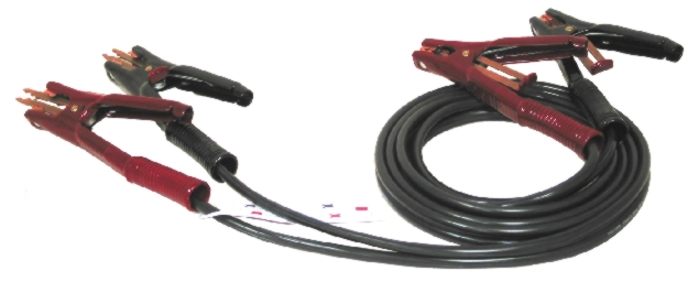 Associated 12' Booster Cable (400-amp, 4 AWG) - ASO-6156