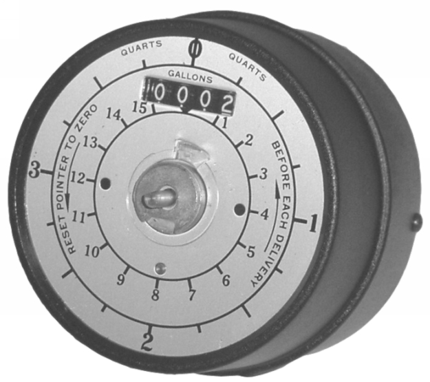 Balcrank Bare In-Line Meter (Gallons) - BAL-3120-004