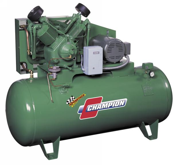 Champion 10 HP Advantage Air Compressor, 208V-3Ph - CHAM-HR10-12-208-3