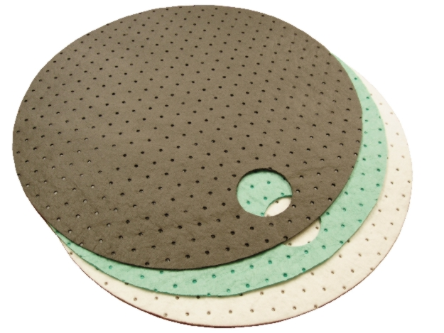 Meltblown Gray Universal Drum Top Pads - MBT-GDT22NL