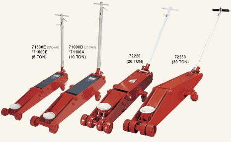 Norco 10 ton air hydraulic fastjack floor jack nor 71100a for 10 ton air hydraulic floor jack