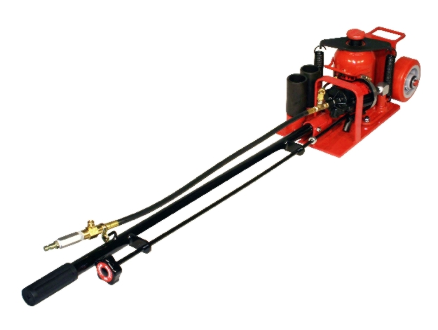 Norco 20-Ton Low-Height Floor Jack, Air/Hydraulic - NOR-72090A