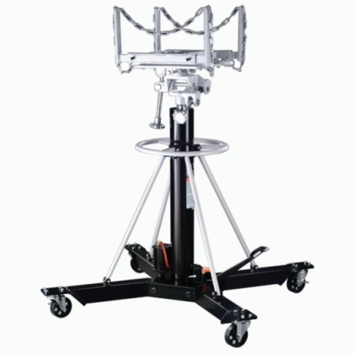 Omega 1-Ton Telescopic Transmission Jack with Air - OME-42001