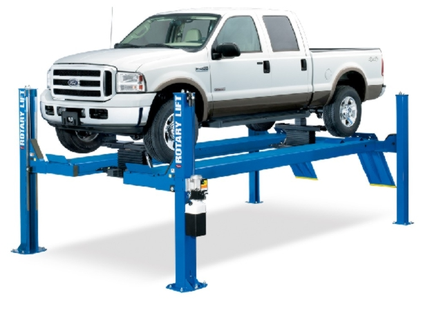 Rotary Four-Post Auto Lift (14,000lbs.-Capacity Open Front) - R-SMO14L