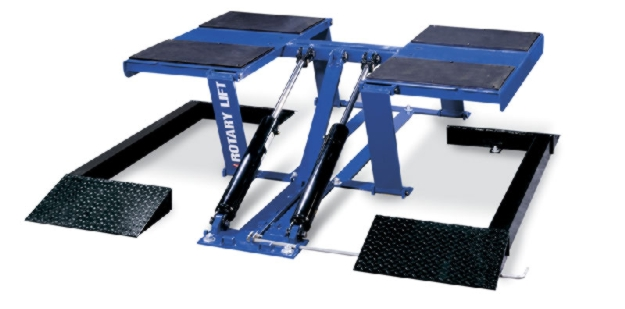 Rotary Pad-Style Auto Lift (7,000lbs.-Capacity Low Rise) - R-VLXS7