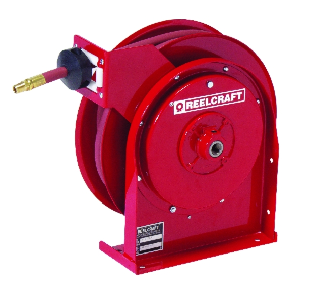 Reelcraft Compact Quiet Latch Hose Reel - REL-4400OLP