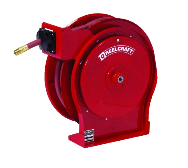 Reelcraft Compact Quiet Latch Hose Reel - REL-5405OHP