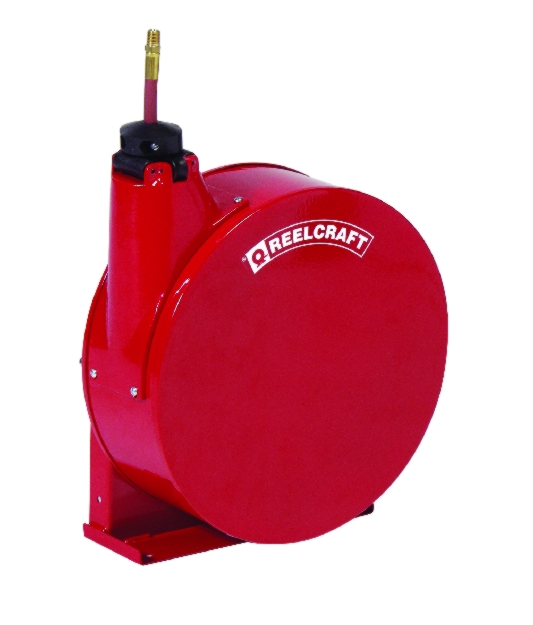 Reelcraft Compact Quiet Latch Hose Reel - REL-5400EHP