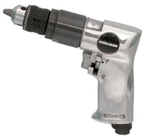 "Steelman 3/8"" Reversible Air Drill - STL-1705"