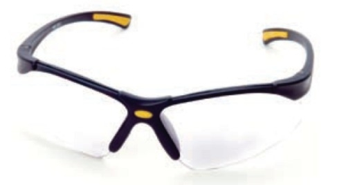 Steelman Clear Comfort-Fit Safety Glasses - STL-96717