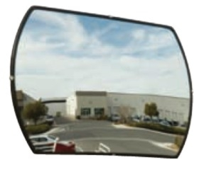 Steelman Rectangular Convex Mirror - STL-PLX-1524
