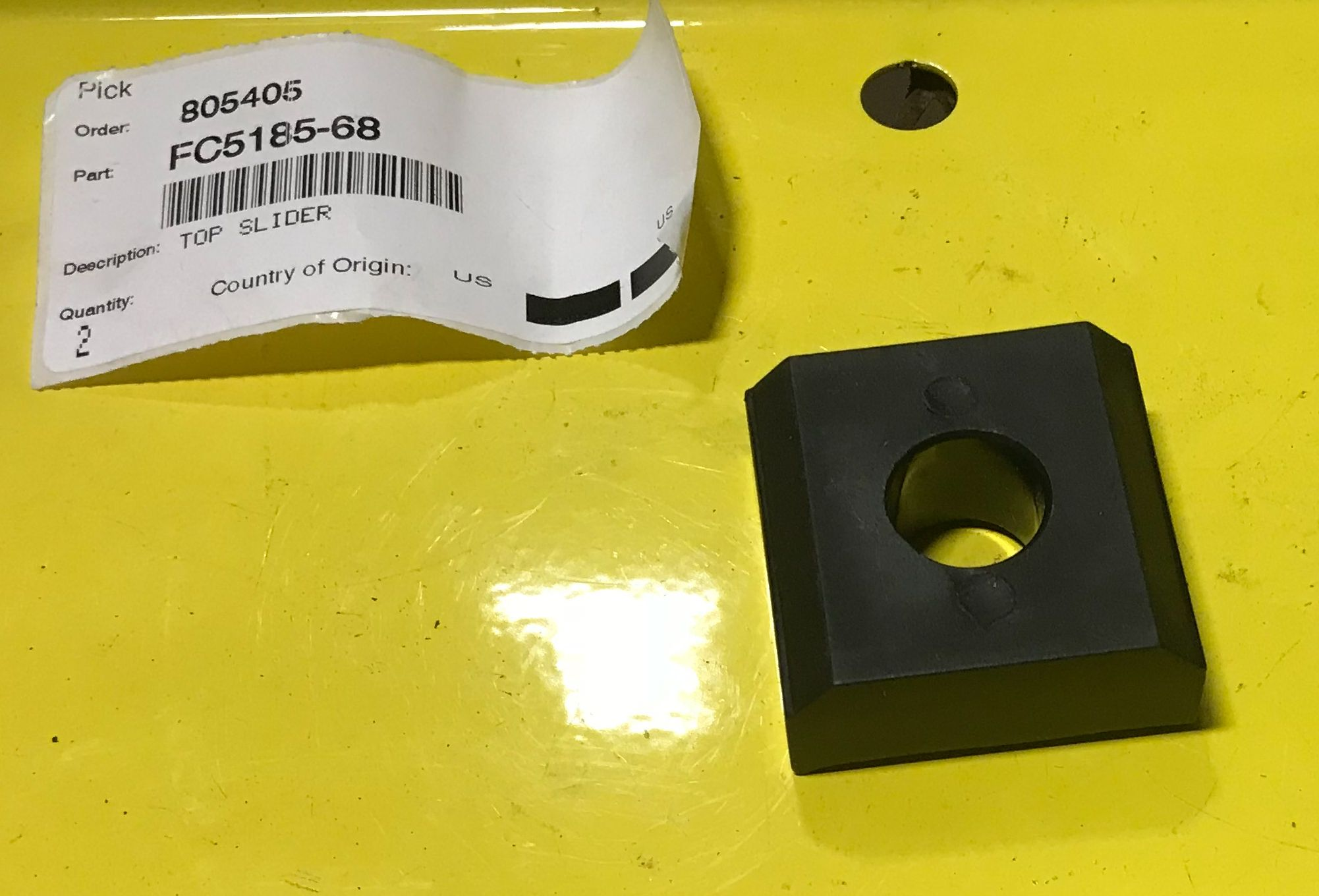 Rotary Lift Parts - R-FC5185-68