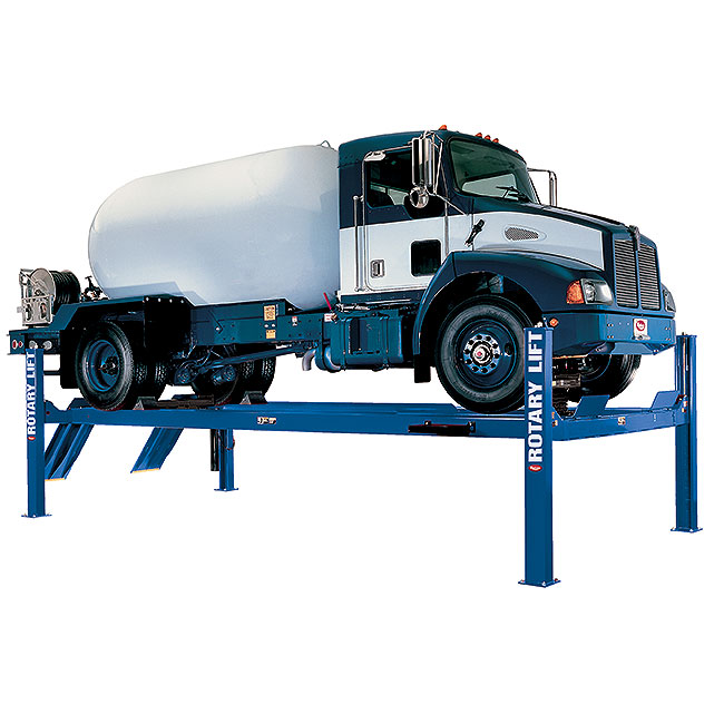 Rotary Four-Post Truck Lift (18,000lbs.-Capacity Heavy Duty) - R-SM18-EL2