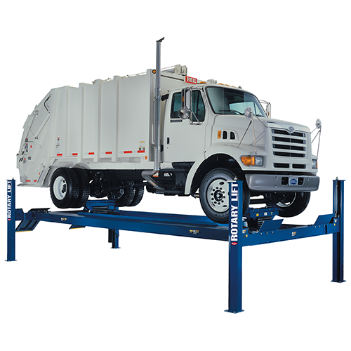Rotary Four-Post Truck Lift (30,000lbs.-Capacity Heavy Duty) - R-SM30-S