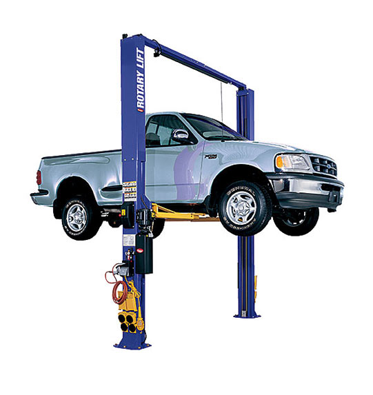 Rotary Two-Post Auto Lift (10,000lbs.-Capacity Symmetric) - R-SPO10