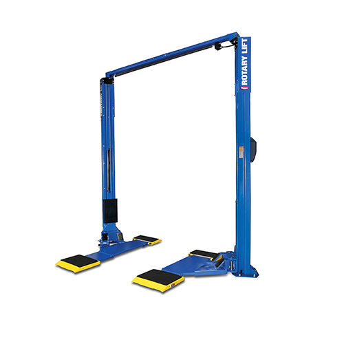 Rotary Two-Post Auto Lift (7,000lbs.-Capacity Asymmetric) - R-SPOA7-MP