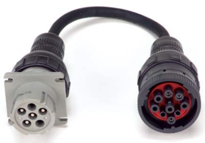 Auto Meter 6-Pin to 9-Pin Adaptor Cable - AM-AC25