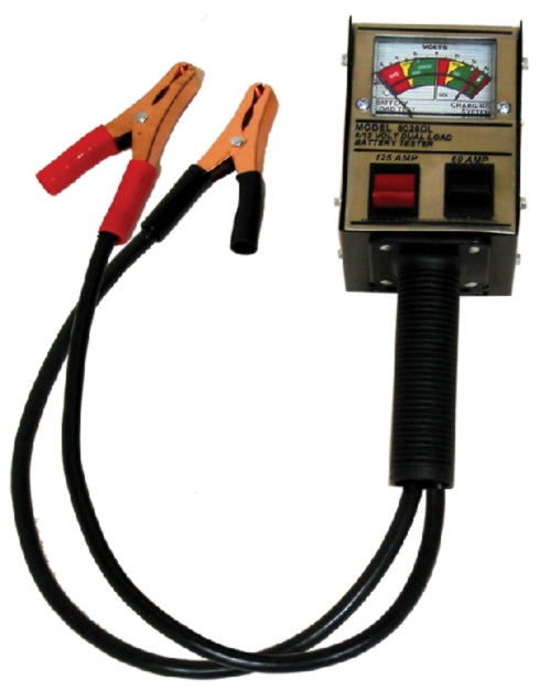 Associated 6/12V Hand-Held Analog Dual Load Tester (60/125 Amps) - ASO-6028DL