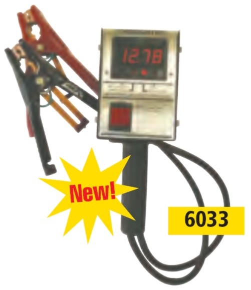 Associated 12V Hand-Held Digital Load Tester (125 Amps) with CCA test - ASO-6033
