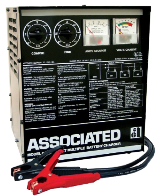 Associated 12V Parallel Battery Charger (30 Amps) - ASO-6065