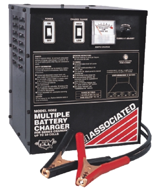 Associated 60-Cell Series Battery Charger (6 Amps) - ASO-6082