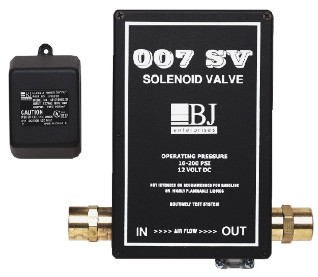BJ Enterprises 007 Electric Solenoid Valve - BJ-7580