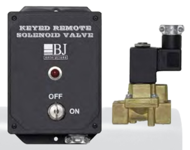 BJ Enterprises Keyed Remote Air Solenoid Valve System - BJ-7630
