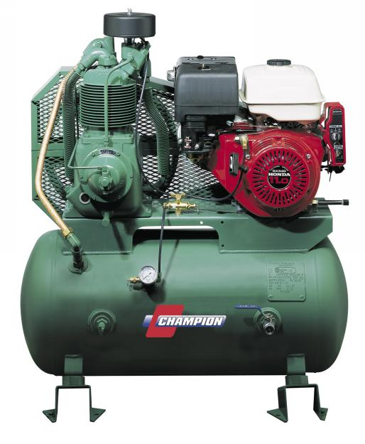 Champion Prof Duty 20 HP Gas Driven Air Compressor - CHAM-HGR10-8K