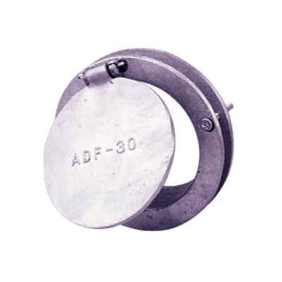 "CRUSHPROOF  3"" Aluminum Doorport for 3"" hose - CP-ADF30"