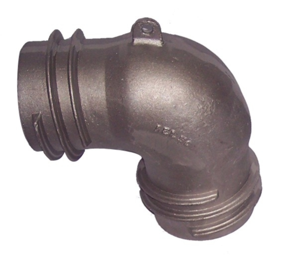 "CRUSHPROOF  3"" Aluminum Elbow - CP-AEL30"