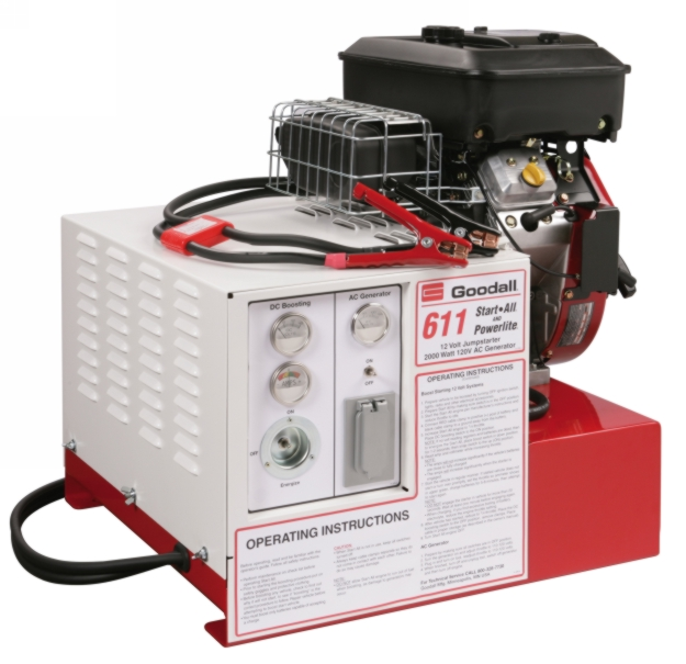Goodall 700 Amp 12V Start-All with generator - GDAL-11-611