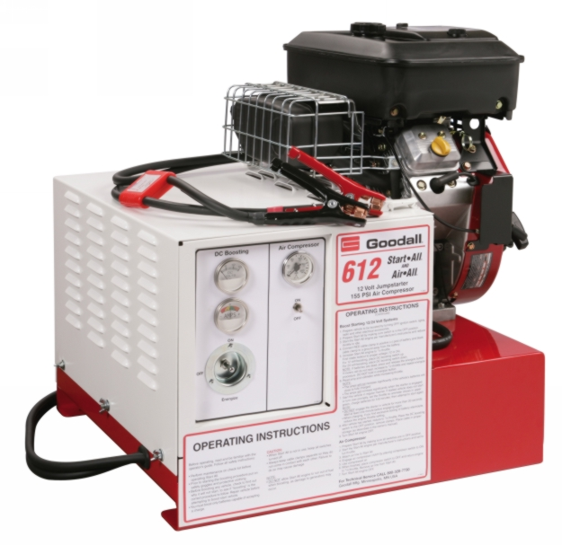 Goodall 700 Amp 12V Start-All with air compressor - GDAL-11-612