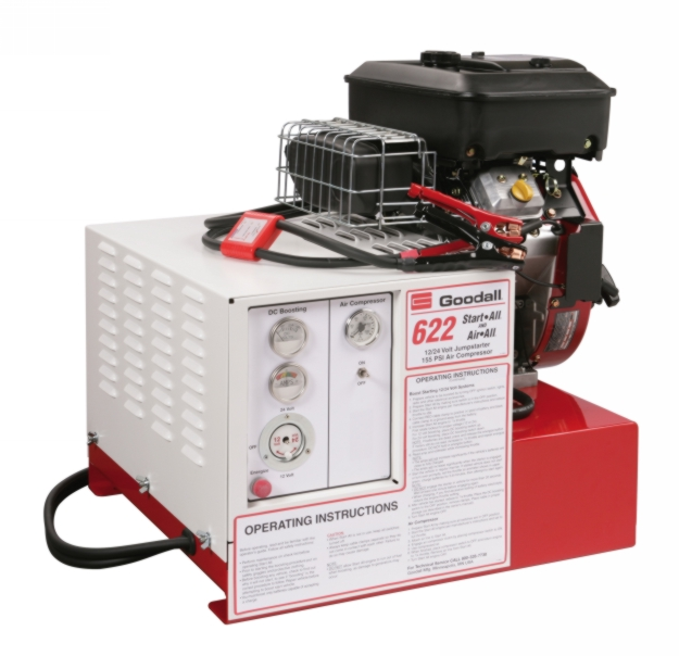 Goodall 700 Amp 12/24V Start-All with air compressor - GDAL-11-622