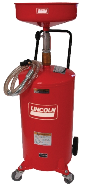 Lincoln Pressurized Used Oil Receiver - LIN-3601