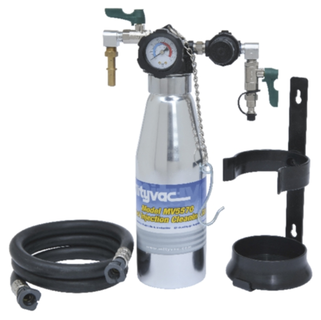 Lincoln Mity-Vac Fuel Injection Cleaning Kit with hose - LIN-MV5565
