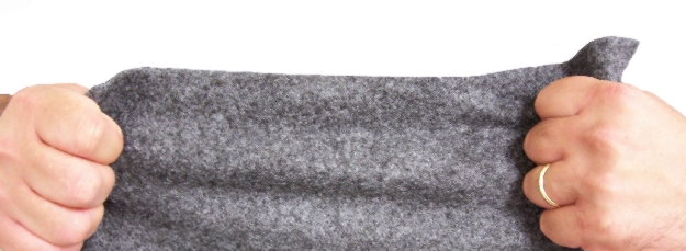 "Meltblown Single-Weight Industrial Rug Rolls (18"" x 300') - MBT-NP08-18300"
