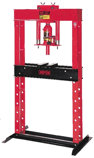 Norco 12-Ton Shop Press with Hand Pump - NOR-78013A