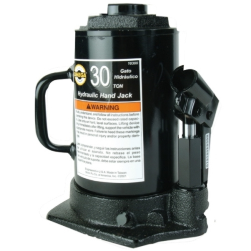 Omega 30-Ton In-Line Bottle Jack - OME-10300
