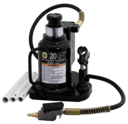 Omega 20-Ton Low-Profile Air Bottle Jack - OME-18209