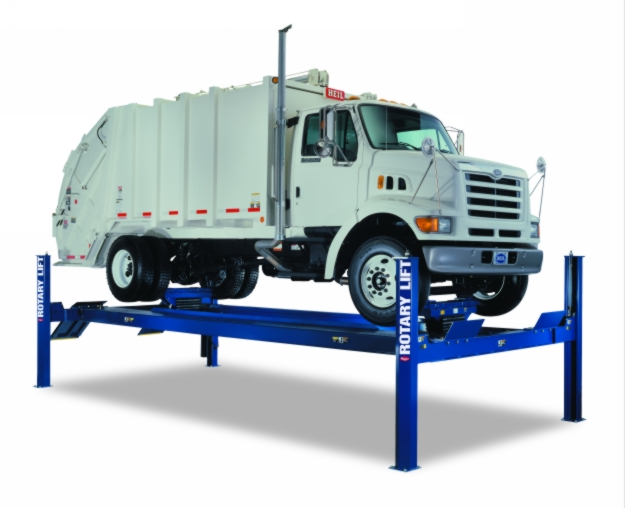Rotary Four-Post Truck Lift (30,000lbs.-Capacity Heavy Duty) - R-SM30-L